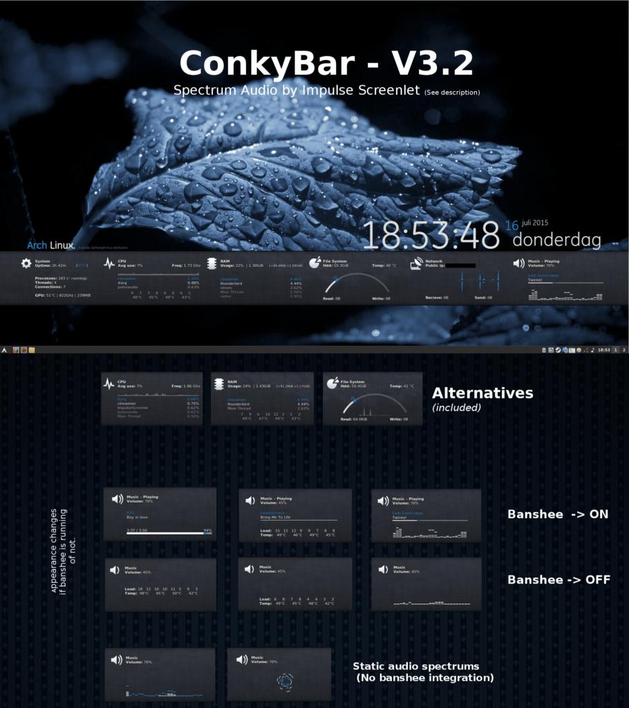 Conky Bar
